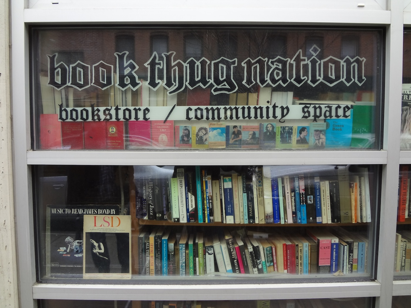 Bookthugnation Is An Used Book And Community E In Williamsburg Brooklyn